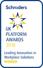 UK Platform Awards 2018 - Leading Innovation in Workplace Solutions Winner